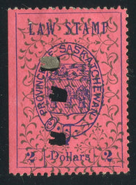 0008SL1711 - SL8 - Used - Deveney Stamps Ltd. Canadian Stamps