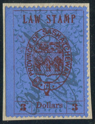 0009SL1711 - SL9 - Used - Deveney Stamps Ltd. Canadian Stamps