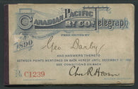 0003CP1709 - TCP3 - Booklet - Deveney Stamps Ltd. Canadian Stamps