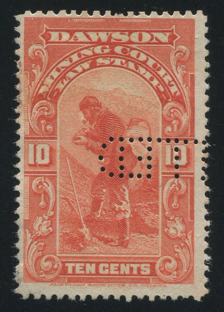 0001YL1708 - YL1 - Used - Deveney Stamps Ltd. Canadian Stamps
