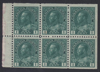 0104CA1711 - Canada #104aii - Mint Booklet Pane