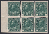 0104CA1708 - Canada #104aii - Mint Booklet Pane