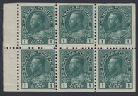 0104CA1803 - Canada #104aii - Mint Booklet Pane