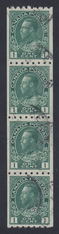 0123CA1803 - Canada #123 Strip of 4