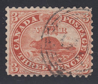 0012CA1802 - Canada #12v - Used Stitch Watermark