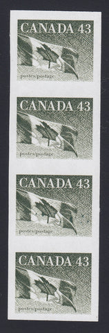 1395CA1802 - Canada #1395a - Mint Imperf Strip