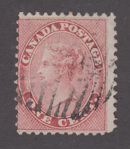 0014CA1802 - Canada #14 - Used Double Print