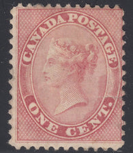 0014CA1903 - Canada #14v - Mint 'E' Flaw