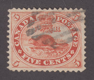 0015CA1707 - Canada #15 - Used Re-Entry