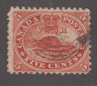 0015CA1709 - Canada #15 - Used Major Plate Faults/Scratches