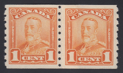 0160CA1803 - Canada #160i Mint Paste-up Pair