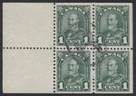 0163CA1804 - Canada #163a - Used Booklet Pane