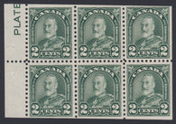 0164CA1805 - Canada #164aii - Mint Booklet Pane
