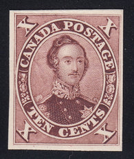 0017CA1802 - Canada #17TCi - Mint Plate Proof