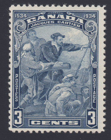 0208CA1802 - Canada #208 - Mint 'Topless 4' Unlisted Variety