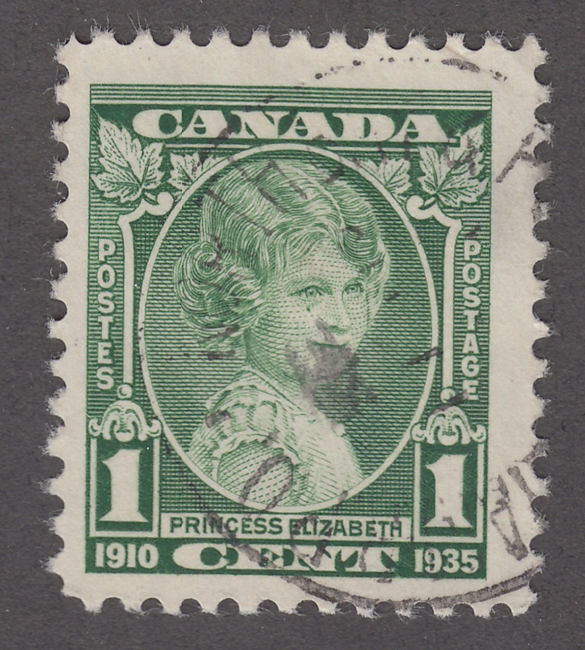 0211CA1805 - Canada #211i - Used 'Weeping Princess'