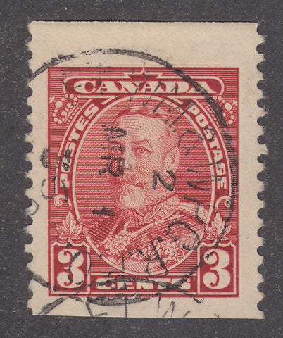 0219CA1802 - Canada #219 - Used, Imperf Single?