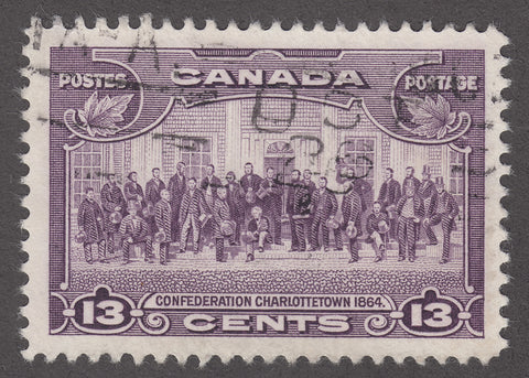 0224CA1805 - Canada #224iii - Used Major Re-entry
