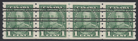 0228CA1805 - Canada #228xx,iv Mint Strip of 4
