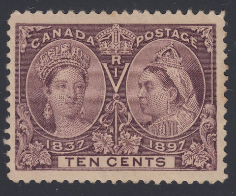0057CA1808 - Canada #57i - Mint Major Re-Entry