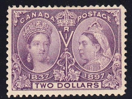 0062CA1708 - Canada #62 - Mint, Major Re-entry