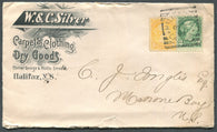 0035NS1903 - #35 & 36 on 'W. & C. SILVER' Advertising Cover
