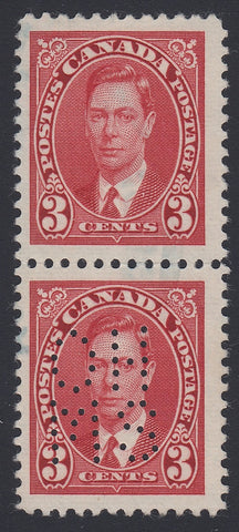 0260CA1804 - Canada OA233 'A Z' - Used Vertical Pair
