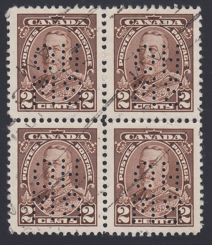0248CA1804 - Canada OA218 'A' - Used Block of 4