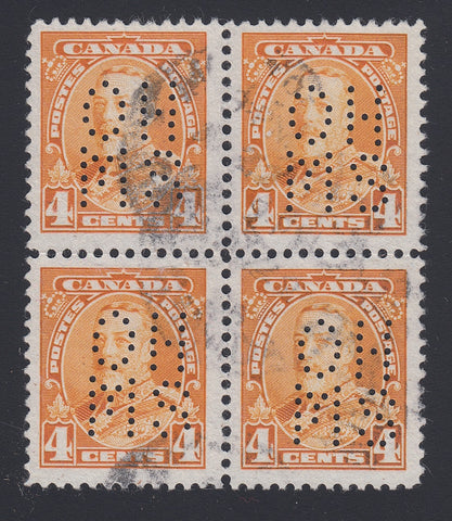 0250CA1804 - Canada OA220s 'A' - Used Block of 4