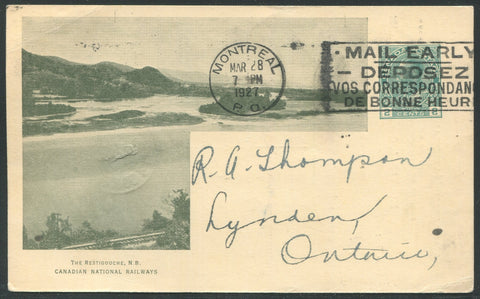0564CN1906 - The Restigouche, N.B. - CNR A24 (Used)