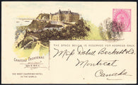 0030CP1902 - Chateau Frontenac - CPR A37 (Used)