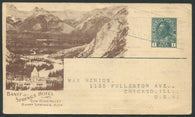0116CP1904 - Banff Springs Hotel - CPR A66 (Used)