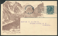 0124CP1905 - Lakes in the Clouds, B.C. - CPR A75 (Used)