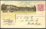 0037CP1903 - Chalet Lake Louise - CPR B36 (Used)