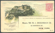 0038CP1904 - Chateau Frontenac - CPR B37 (Used)