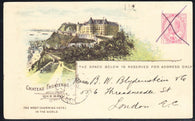 0038CP1902 - Chateau Frontenac - CPR B37 (Used)