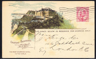 0039CP1902 - Chateau Frontenac - CPR B38 (Used)