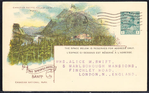 0094CP1902 - Banff Hot Springs - CPR D35 (Used)