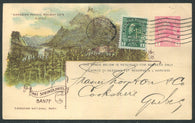 0052CP1909 - Banff Hot Springs - CPR F35 (Used)
