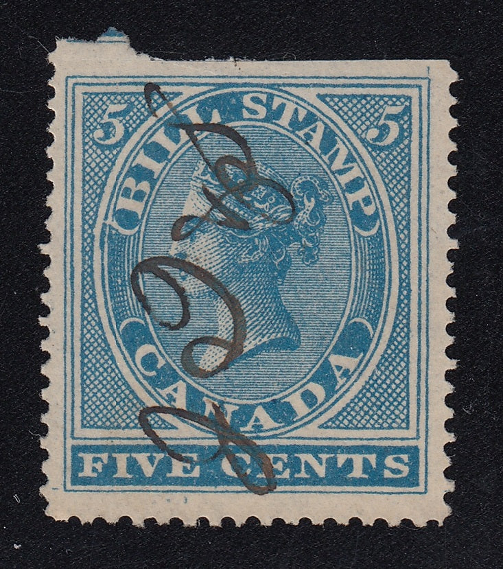 0005FB1711 - FB5a - Used Single - Deveney Stamps Ltd. Canadian Stamps