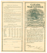 0002WS1708 - FWS2 - Mint War Savings Certificate