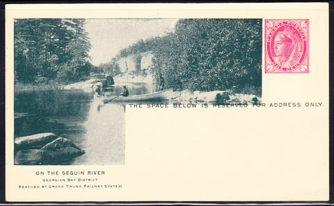 0383GT1902 - On the Seguin River - GTR B36 (Mint)