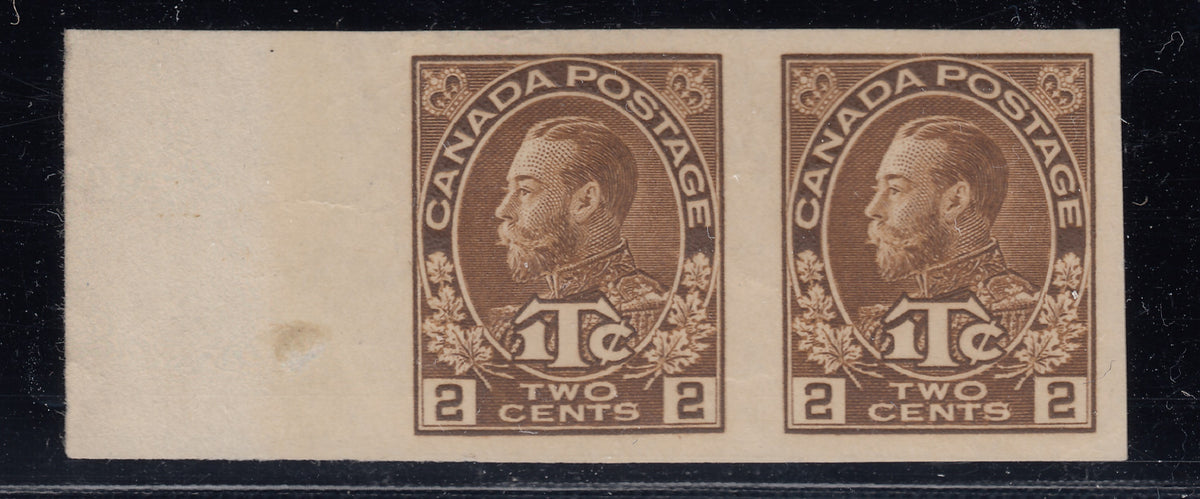 0700MR1711 - Canada MR4b - Mint Imperf Pair