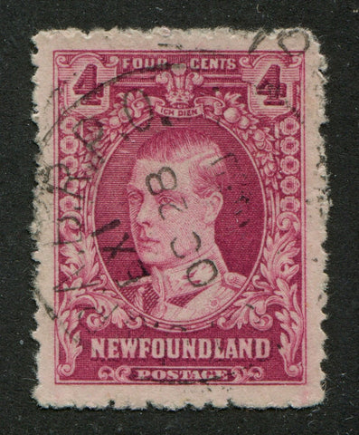 0166NF1707 - Newfoundland #166 - Used - UNLISTED