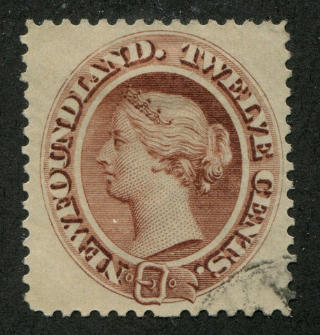 0029NF1707 - Newfoundland #29ii - Used Re-Entry