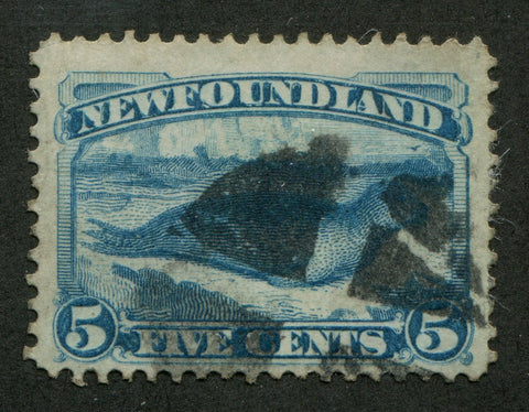 0053NF1707 - Newfoundland #53i - Used Re-Entry