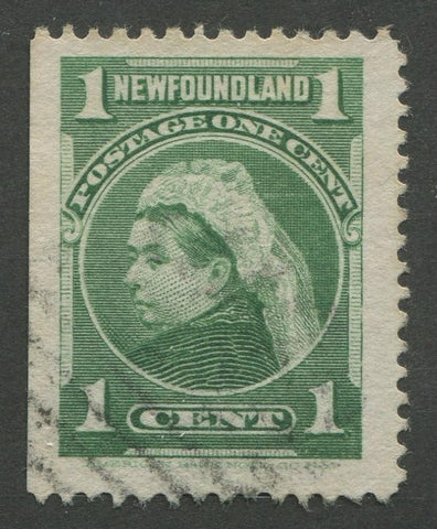 0080NF1707 - Newfoundland #80i - Used - UNLISTED