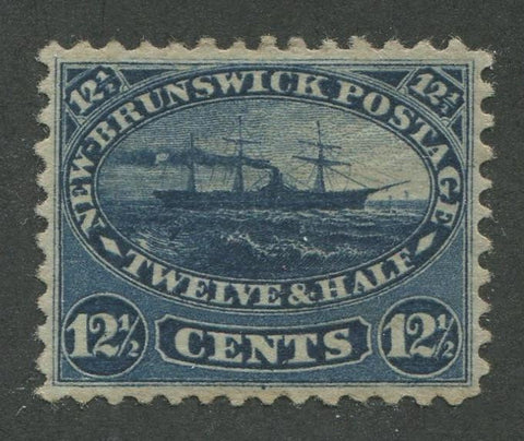 0010NB1707 - New Brunswick #10 - Mint - Deveney Stamps Ltd. Canadian Stamps