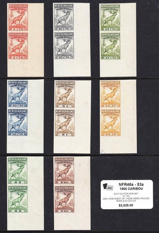 0046NF1708 - NFR46a - 53a - Mint Gutter Pair Set