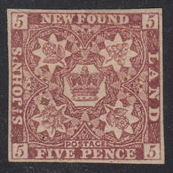 0005NF1711 - Newfoundland #5 - Mint - Deveney Stamps Ltd. Canadian Stamps
